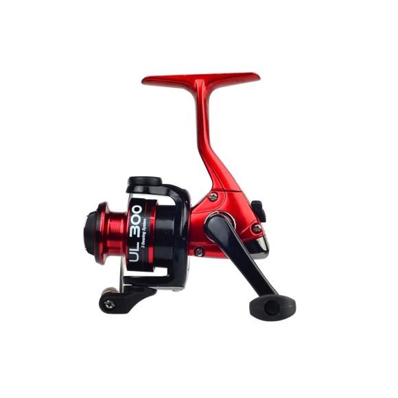 MOLINETE MS ULTRA LIGHT UL300 RED&BLACK -